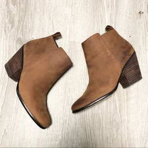 Cole Haan Brown Leather Chesney Bootie in Sz 8B